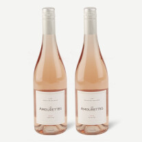 Two bottles of Les Amourettes, Ros